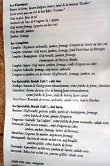 menu at Breizh Cafe | by David Lebovitz