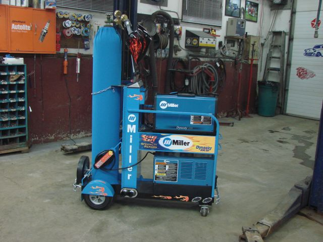 Miller Dynasty Crazy Cart This Is A Miller Dynasty 200