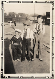 Vintage: Three boys, all dressed up | by freeparking :-|