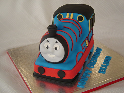 Thomas The Train 3d 2nd 3d Thomas Cake Merissa Flickr