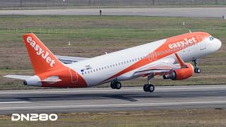 Easyjet A320-214 msn 7597