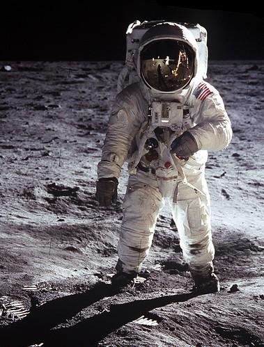 "Buzz on the Moon | Edwin ""Buzz"" Aldrin on the Moon, July ..."