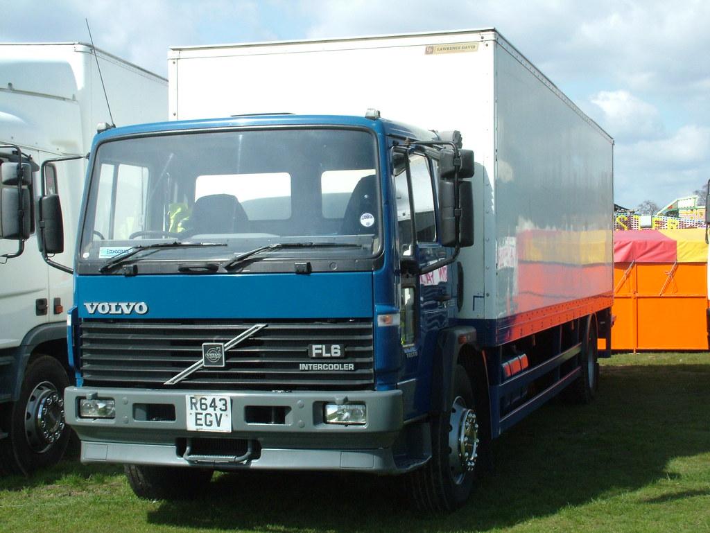 Volvo Fl6 1998 Volvo Fl6 Intercooler Funfair Truck