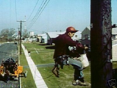 Where To Post Jobs >> Telephone Lineman | Running new telephone cable post WW-II. | Kenneth Martin | Flickr