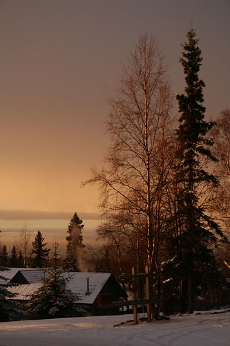 Anchorage winter sunset | by toughsl
