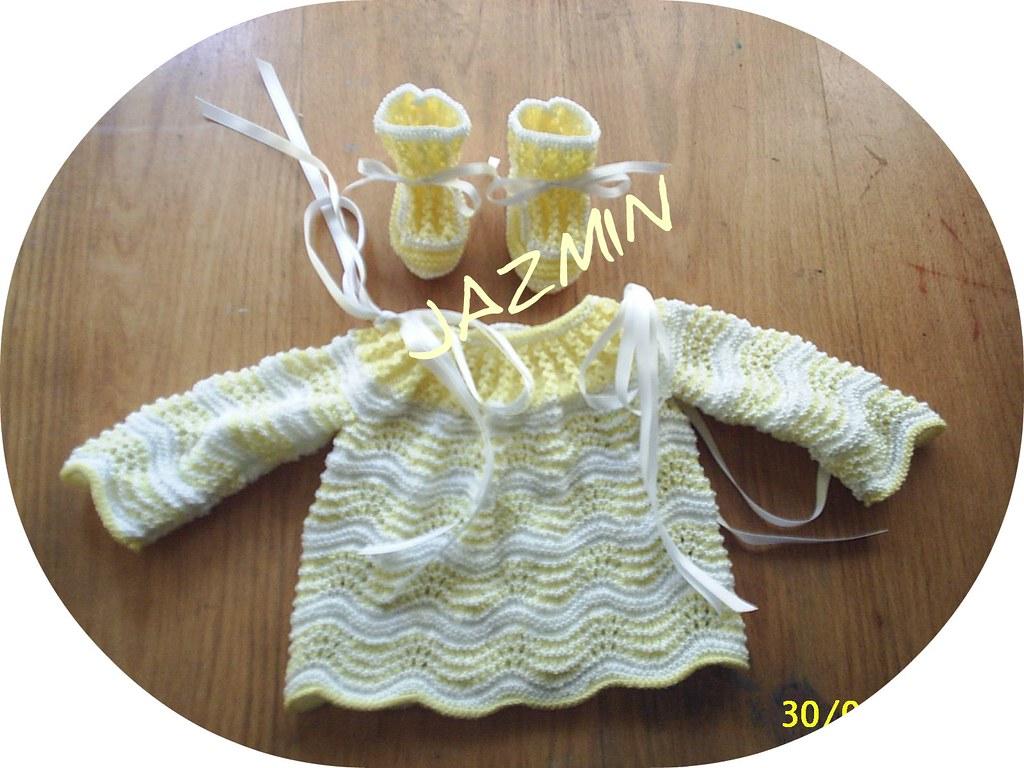Jerseis o chaquetitas patucos para bebe ganchillo y - Mantas de bebe hechas a ganchillo ...