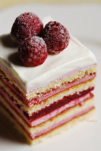 Coconut Raspberry Layer Cake Recipe