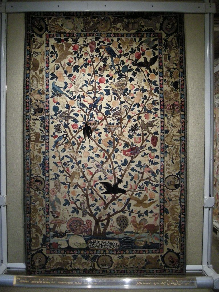 Tree Of Life Carpet Museum Tehran Simon White Flickr