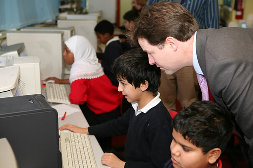 Nick Clegg visits Mount Stuart Primary School, Cardiff | by Liberal Democrats