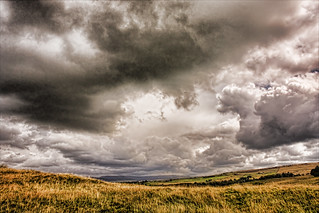 Storm clouds gathering - Topazed | by Nitibob