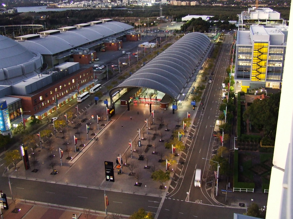 Sydney Olympic Park Railway Station