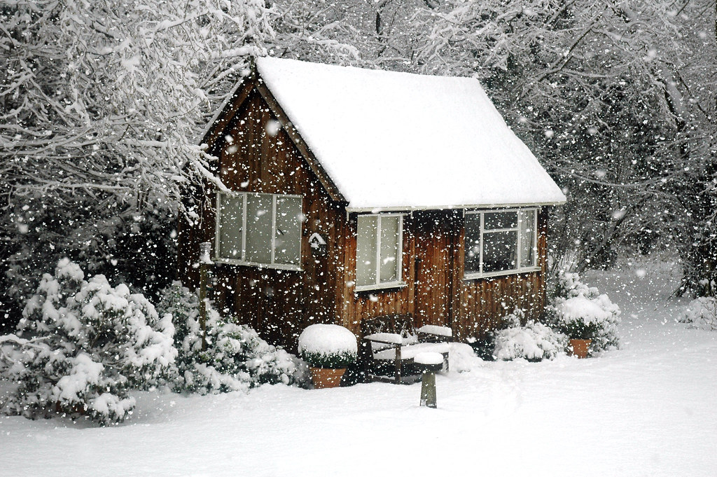 Christmas Card House Snow Alex Eckford Flickr