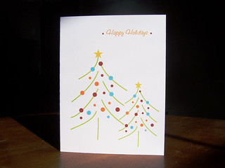 Modern Happy Holidays Card.JPG | by paperseed