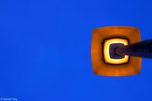 Minimalist street lamp | by clement :: tang