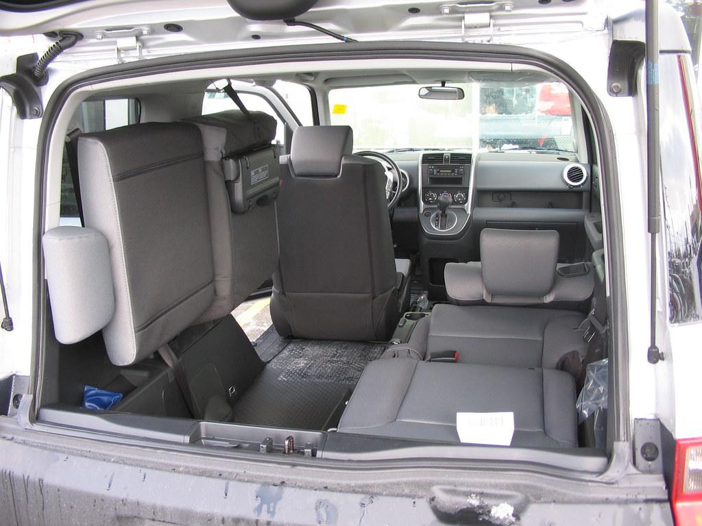 2008 Honda Element Lx Rear Seating We Got The Salesman