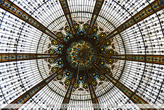 Galeries Lafayette stained-glass dome - Paris | by Naomi Rahim (thanks for 3 million visits)