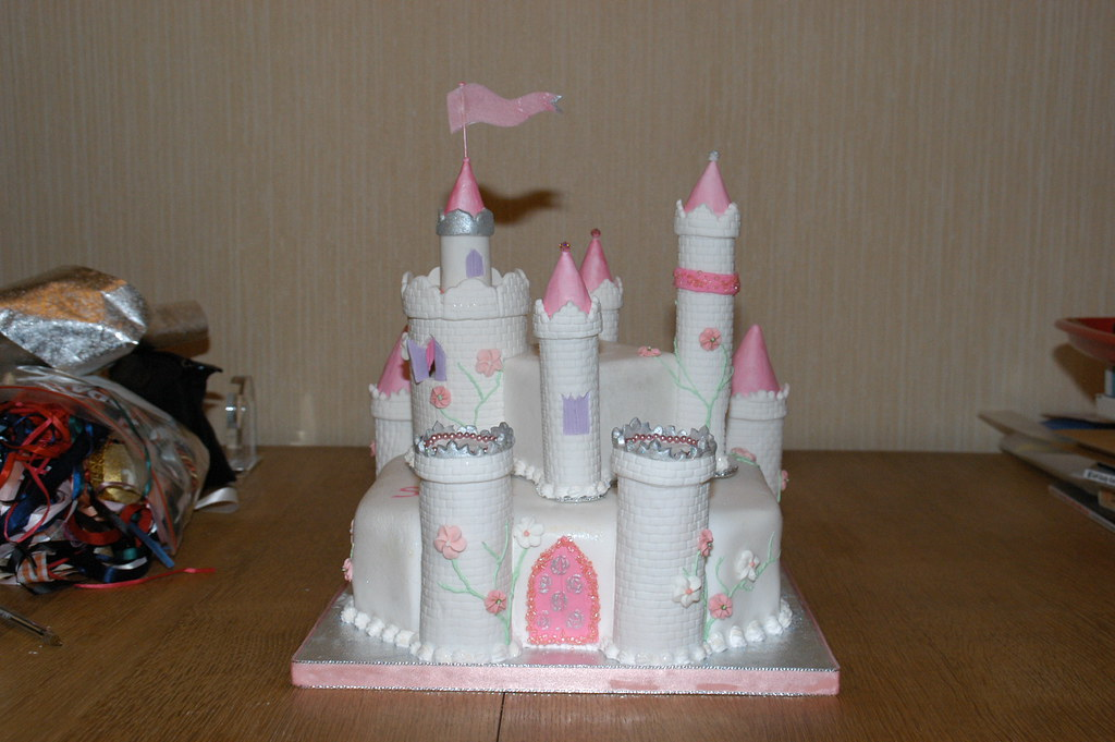 how to make princess cake top