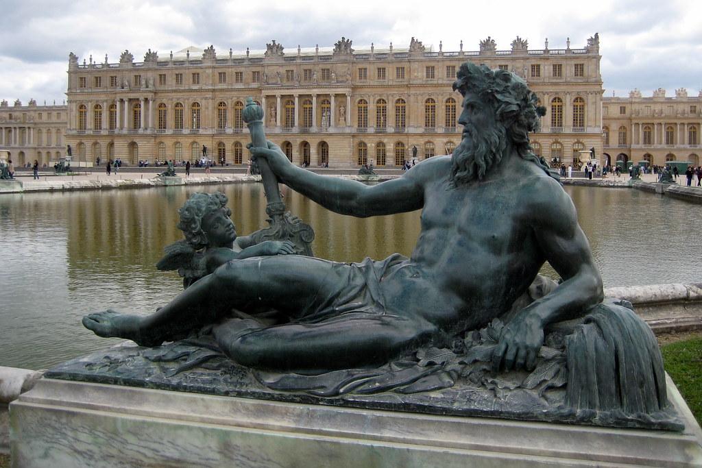 Versailles jardins du ch teau de versailles le parterr for Jardin chateau de versailles