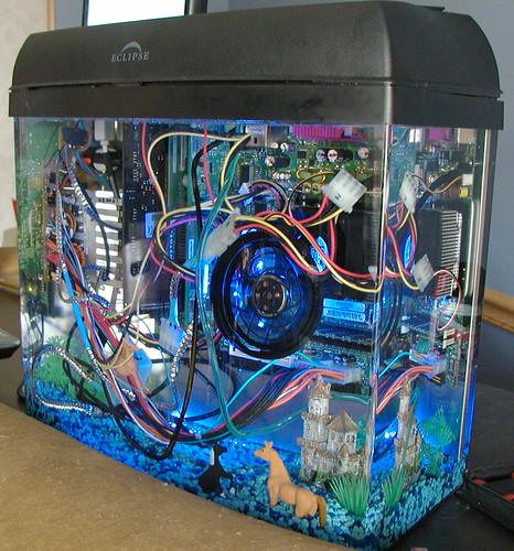 fish tank pc | John V | Flickr