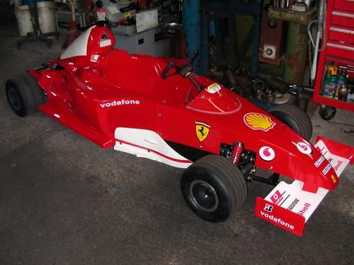 Formula 1 Ferrari Style Go Kart 1 Specifications