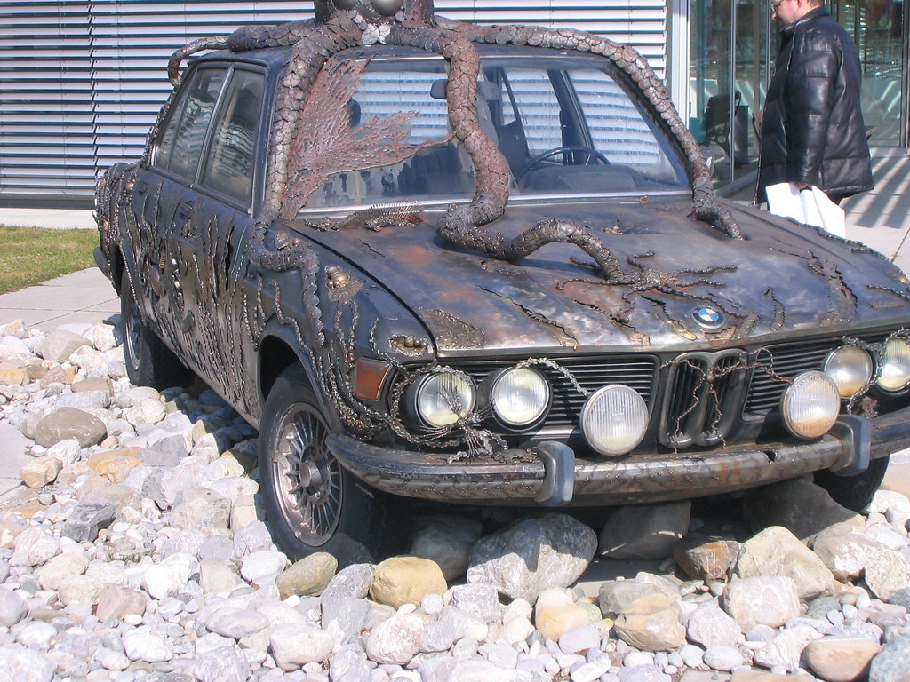 Bmw E3 Kunstwerk Art Car Ni1050 Flickr