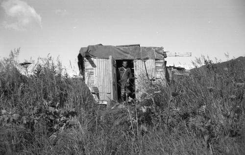 Clam diggers' shack near Kukak Bay, Alaska, 1964 | by gbaku