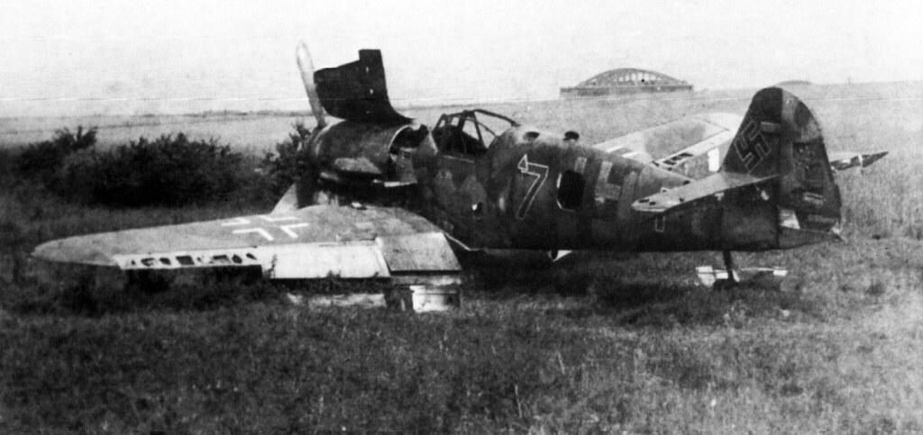 Bf109 K4 in Praha Kbely airfield May 1945