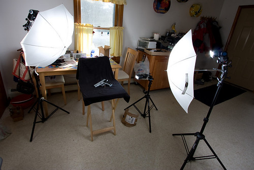 Setup shot for Sig P226 | by WickedVT