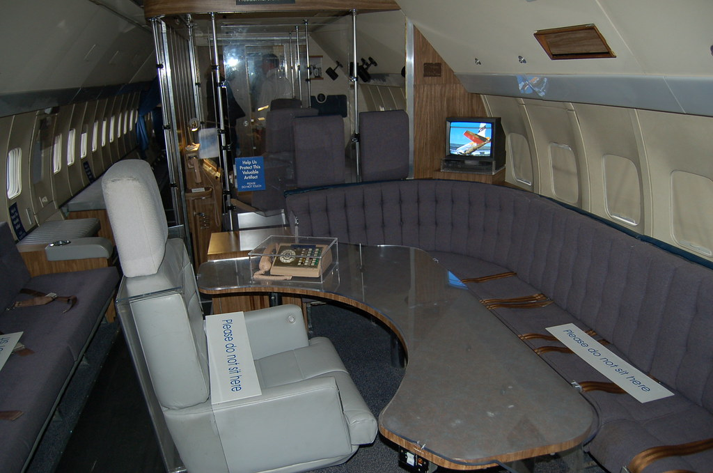 Inside air force one at boeing air museum seattle wa Air force one interior