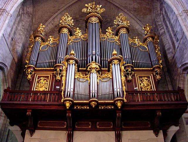Grand orgue de la cath drale saint pierre montpellier fra flickr - Cathedrale saint pierre de montpellier ...