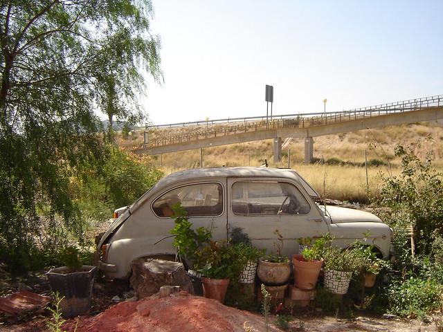 Seat 600 abandonado formando un jardin triste final para for Arreglar un jardin abandonado