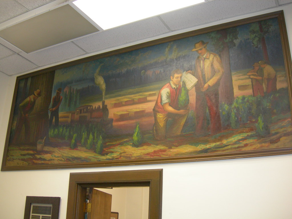 Placerville california mural new deal mural entitled for California mural