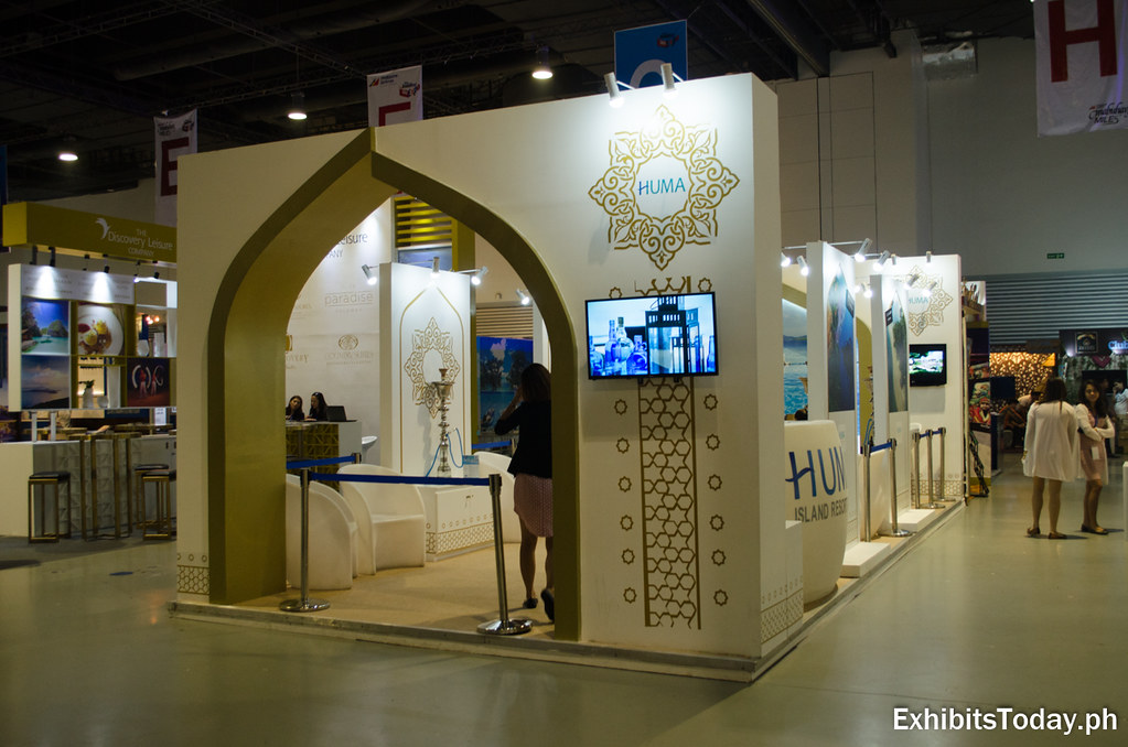 Huma Island Resort Exhibition Booth