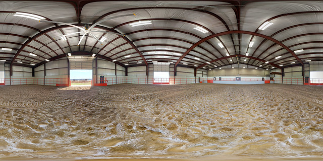 Cline Equine Center Indoor Arena