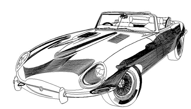 Line Drawing Jaguar : Line art of jaguar in adobe illustrator this was a