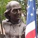 Keys To Community: Ben Franklin and flag