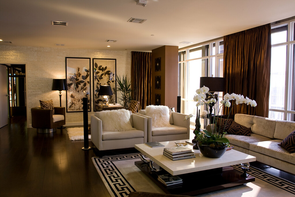 Model Living Room Extraordinary Solair Wilshire Model Living Room  Www.angelenicdownto…  Flickr Design Ideas