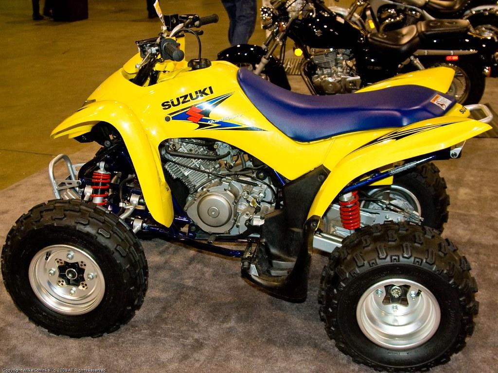 2008 Suzuki QuadSport Z250 ATV | Mike Sel | Flickr