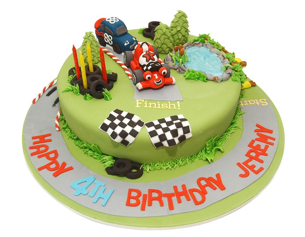 Formula  Racing Car Cake Tin