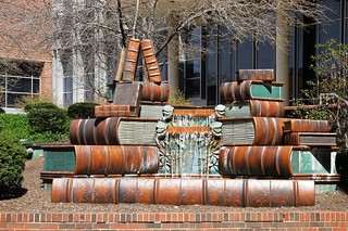 Book fountain IMG_3587 | by OZinOH