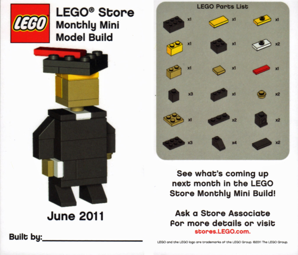 Lego Store Monthly Build