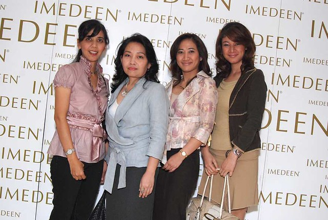 The Faces of Imedeen | Mrs  Miki, Ms  Ika - Allianz, Ms  Bet