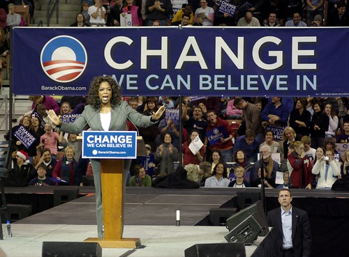Oprah & Obama event, NH, 12/9/07 | by Barack Obama
