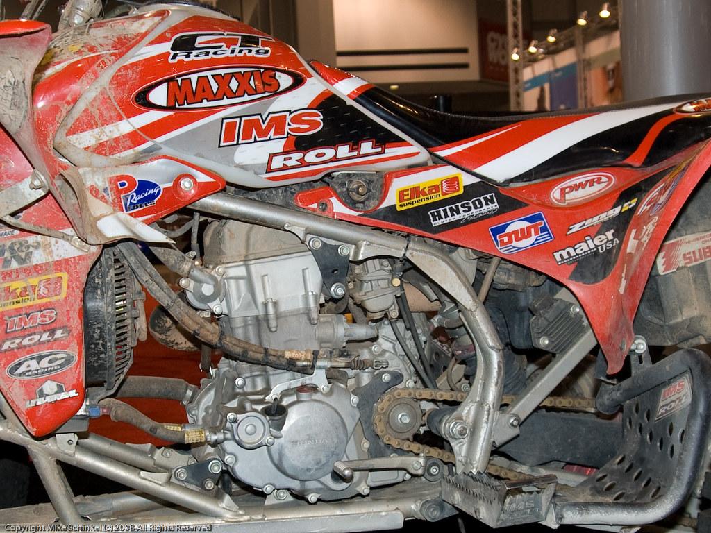 Engine Of 2007 Baja 1000 Pro Atv Winning Honda Trx450r