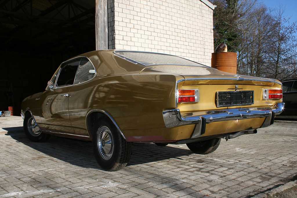 my Opel Rekord C Coupe  Opel Rekord C Coupe, 1969