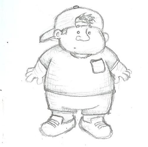 Fat Kid Drawing   Fat Kid   Zephyrsoccer   Flickr