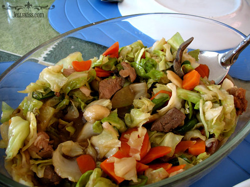 how to cook chopsuey with liver