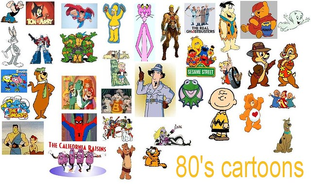 Cartoon Characters In The 80s : S cartoons a bit nostalgic i made an cartoon