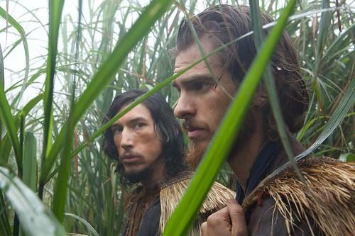 Silence de Martin Scorsese, Adam Driver et Andrew Garfield