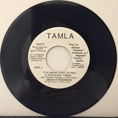 SMOKEY ROBINSON:I'VE MADE LOVE TO YOU A THOUSAND TIMES(RECORD SIDE-B)